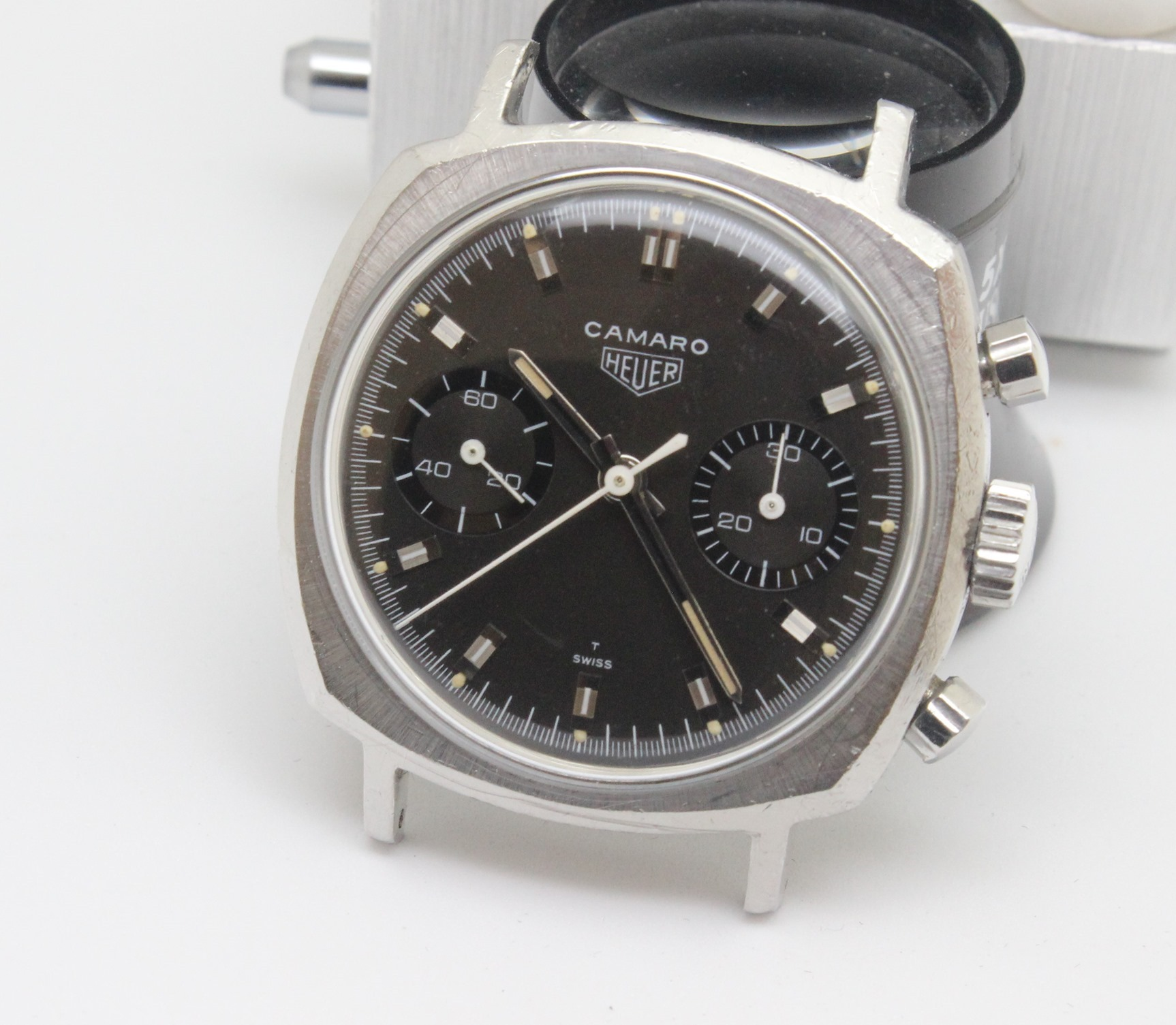 Heuer Camaro 73343 -- Vintage Watch Advisors