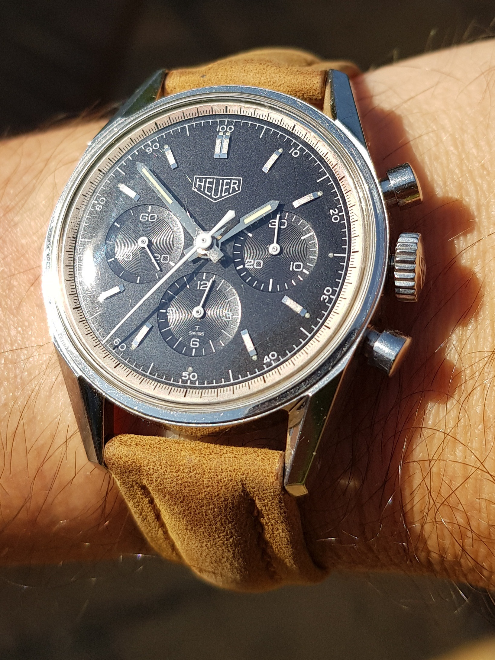 Heuer Carrera Re-edition