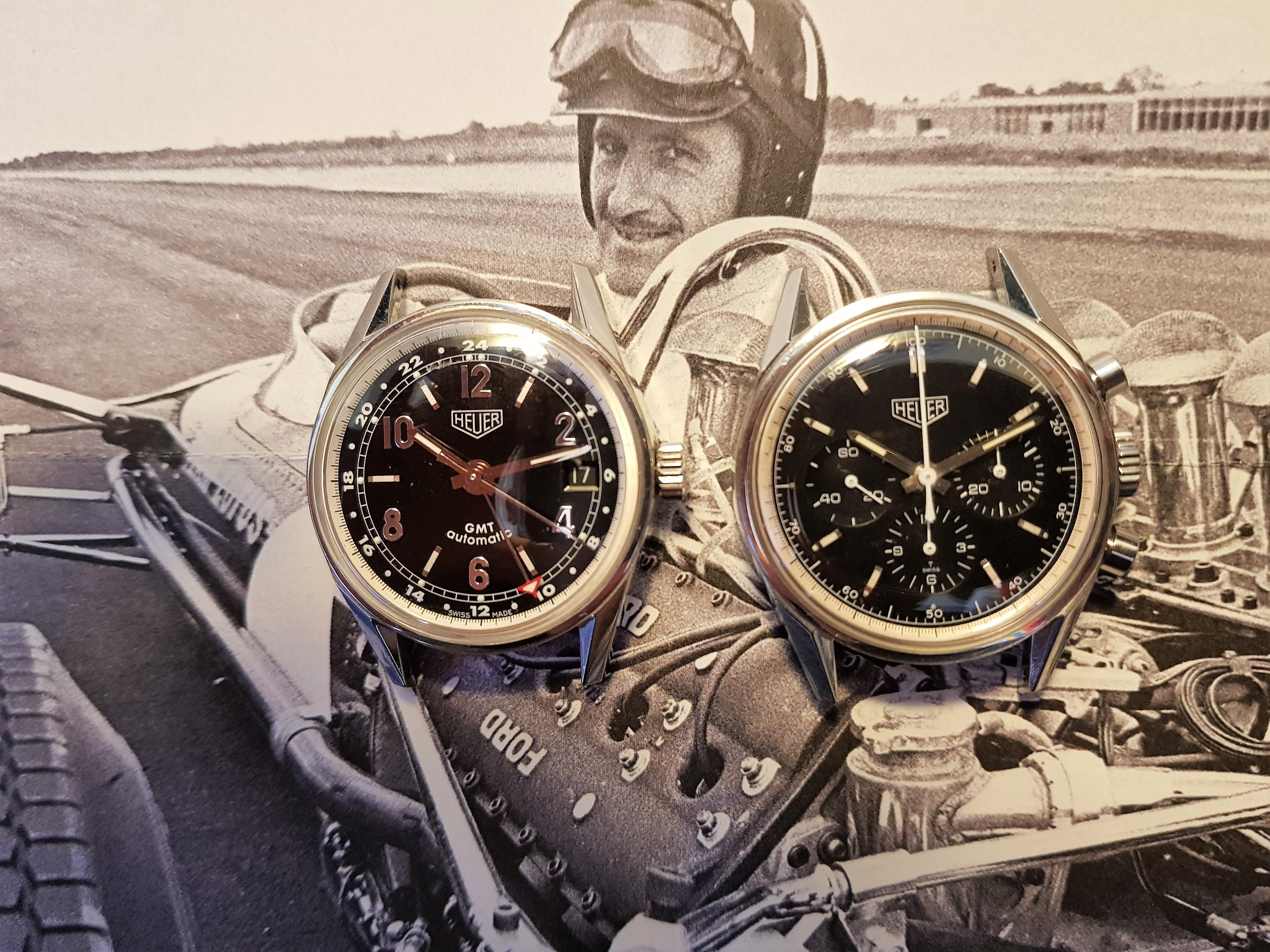 Heuer Carrera WS2113 and CS3111 re-editions