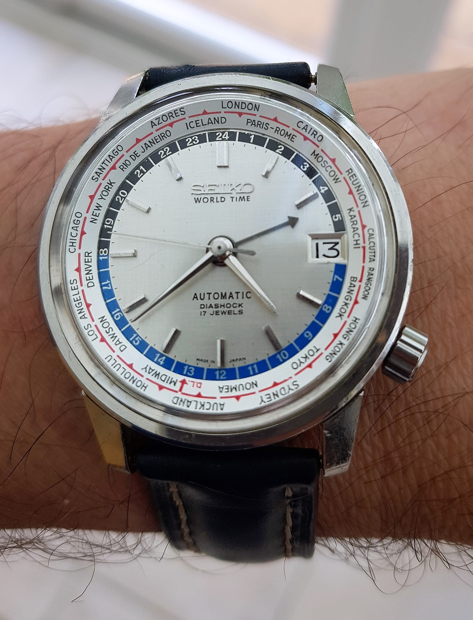 Seiko 6217-7000 World Time from 1967